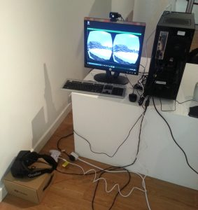 Oculus Rift DK2 fully rigged and ready to go!