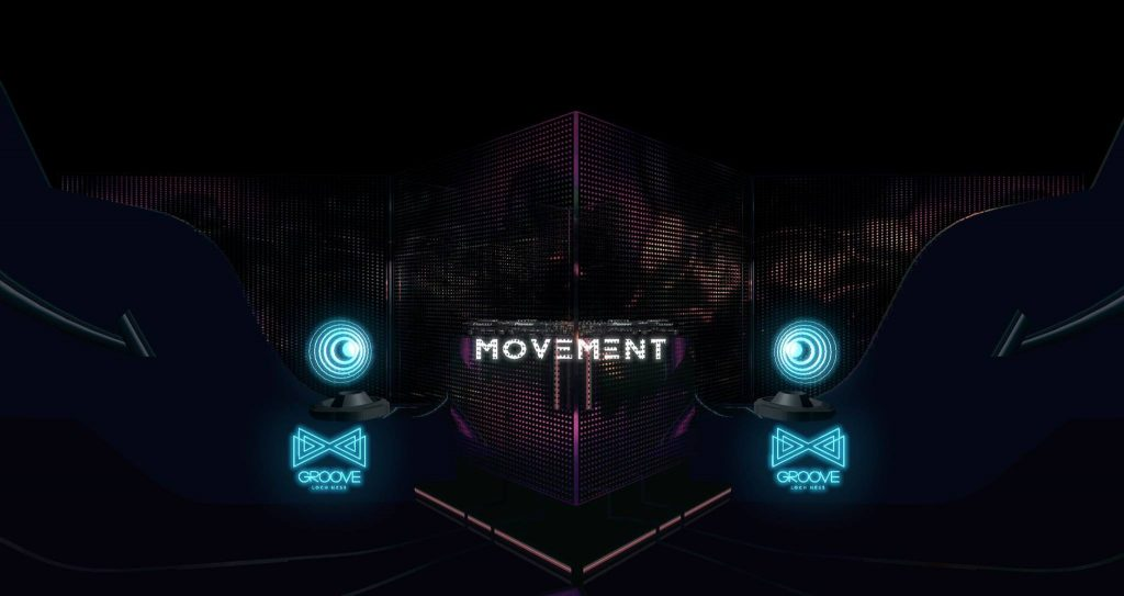 Groove Mixed Reality VR Stream